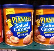 Canned roasted salted peanut