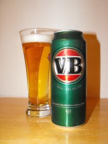 Victoria Bitter (VB) beer