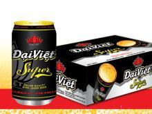 Dai Viet Dark Lager Beer in 330ml Tin