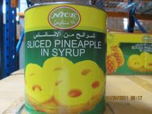Sliced Pineapple in syrup