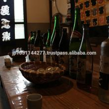 A wide variety of Japanese sakes in rice wine glass bottle