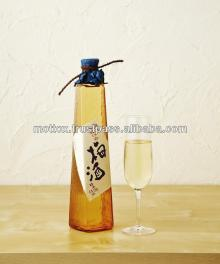 Pure and sweet sour plum wine made by Japanese sake brewery