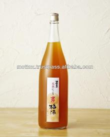Semi sweet and refreshing japanese apricot wine made in Kyoto