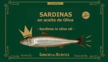canned sardine in olive oil