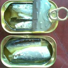CANNED SARDINES 125G