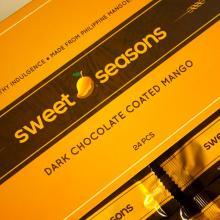 Chocolate Coated Mango