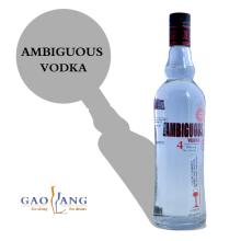 Promotional Glass bottles vodka with OEM service