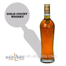 China manuafacturer competitive price Golden yellow blended scotch whisky