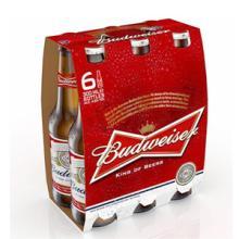 Budweiser Lager Beer 6 X 335ml