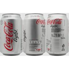 Coca ......Cola light Soft Drink 0.33cl Can ( 24 Per Case)