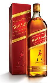 johnnie .............walker red ...............label Whisky
