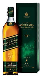 Johnnie ...............Walker............... Green Label