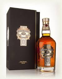 Chivas Regal................... Scotch 25 Years Old................. 750ML