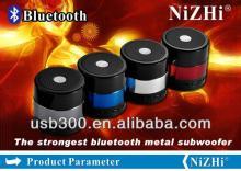 Factory Wholesale Digital Portable Mini Speaker Music MP3/4 Player Micro SD/TF USB Disk Speaker FM R