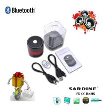 China 2014  Hot  selling best promotion  item  mini bluetooth speaker with MIC handsfree, fm radio, supp