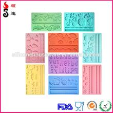 Custom  silicone lace  mold s/mat for cake decorating OEM  design