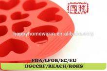 heart silicon mould for chocolate Chocolate Muffin Cup Cake Candy Ice Tray Mold Mold Maker Party Bar