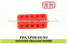 heart 3d chocolate mould sugar paste mold Chocolate Muffin Cup Cake Candy Ice Tray Mold Mold Maker P