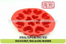 heart plastic chocolate moulds india Chocolate  Muffin  Cup Cake Candy Ice Tray Mold Mold Maker Party