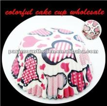 Professional Wedding party supplies cupcake liners paper baking cups cake decoratings