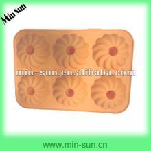 High quality cake pop molds flower shape silicone cake mould Cake decorating supplies wholesale manu
