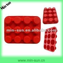 Food grade silicon bakeware/cake decoration cake moulds/custom shaped cake pans