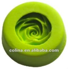 Rose silicone fondant push mold,Cake decoration mould