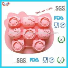 Hello Kitty 3d Silicone Cake Mold/3d Silicone Cake Decorating Mold