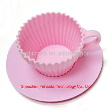 Cake Decorating Products,Silicone Teacup Cakes Cupcake Mold