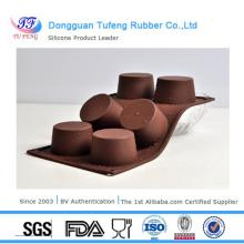 heat resistant Delicate desig flower shape silicone chocolate mould