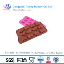 Elegant competitive price and fast delive silicon chocolate tray