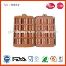 hearted shape silicone chocolate mould chocolate tray