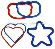 Star Heart Bear Shape Silicone Egg Rings, egg fry ring, cooking egg ring