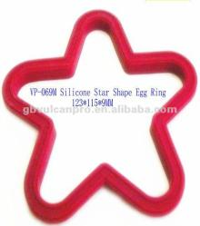 Star Shape Silicone Cooking Egg Rings, Egg Fry Ring