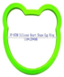 Bear Shape Silicone  Rubber  Cooking Egg  Ring s, Egg Fry  Ring