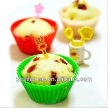 Food Grade Cute Silicon Moulds for Cake Decorations