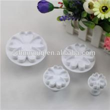 2014 new plastic cake decorating cookie cutter set