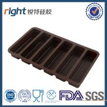 dark chocolate silicone molds