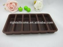 SiliconeRectangular chocolate baking tray