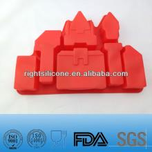 castle shaped silicone cake decoration supplier