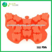 100%Food grade new design custom cheap cake decorations silicon moulds