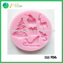 Hot sale funny shaped custom silicone mold cake decor