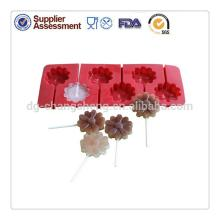 Custom design lollipop candy mould silicone cake lollipops molds silicone lollipop molds for hard ca