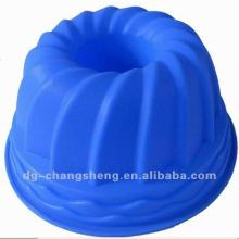 100% Food grade rose-shape silicone cake mould/tray for cake decoration