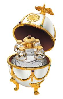 Imperial Collection Super Premium vodka (Faberge style gift box)