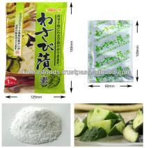 Wasabi Flavored Condiment Powder For Pickling Or Dressing Kinds Of Vegetables