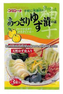 Citrus Junos Yuzu Flavored Condiment Powder For Making Instant Pickles