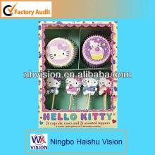 Lovely  Cake   Cup  &  Cake  Decorative Topper
