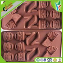 2014 made in china cake mold / high-heeled shoe shaped cake decorate push mold