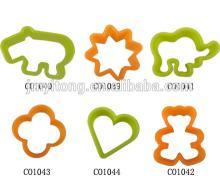 DIY Plastic  cookie   cutter  / cookie  press cake decoration set